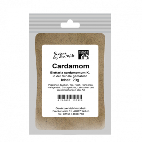 Cardamom gemahlen