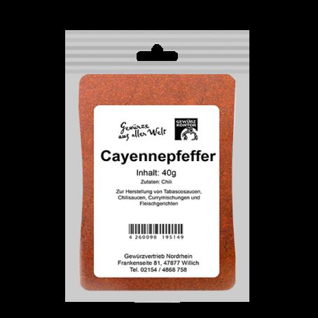 Cayennepfeffer gemahlen