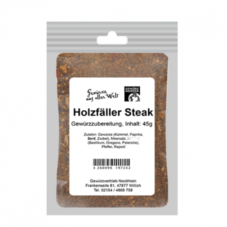 Holzfäller Steak